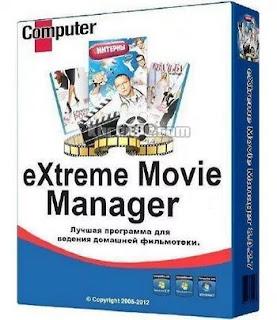 تحميل برنامج لإدارة قواعد بيانات الأفلام eXtreme Movie Manager 10.0.0.1