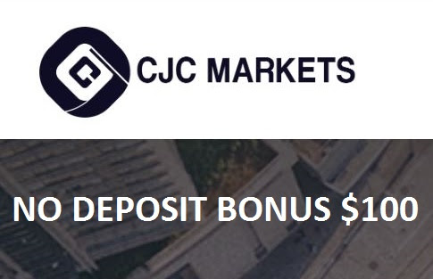 Bonus Forex Tanpa Deposit CJC Markets $100