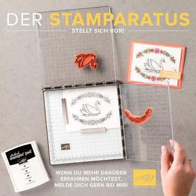 Stampin' Up! rosa Mädchen Kulmbach: Stamparatus – das neue Stampin' Tool