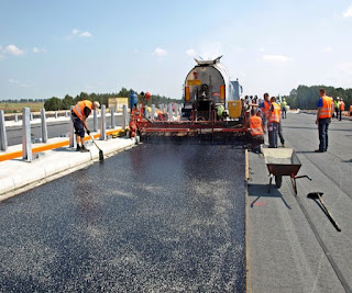 Repair of the Road with the Addition of Liquid Glass