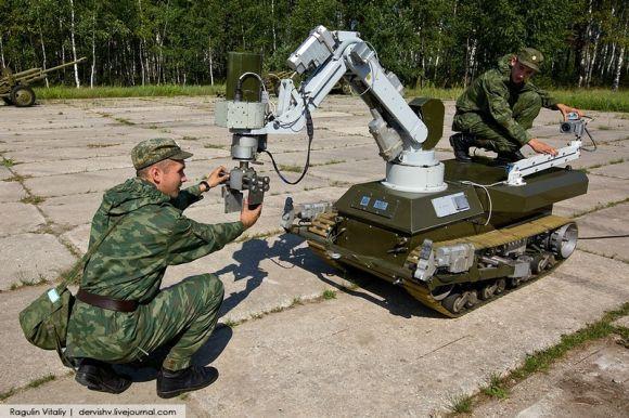 Militer Rusia Maksimalkan Penggunaan Robot