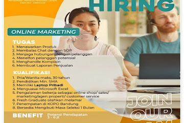 Lowongan Kerja Online Marketing S-Gala Com