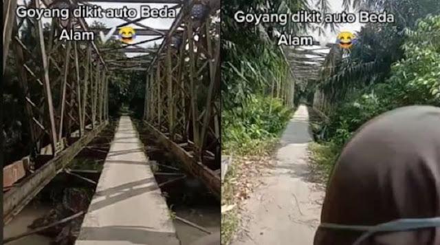 Viral Jembatan Maut, Goyang Dikit Bisa ke Alam Berbeda: Shiratal Mustaqim Versi Dunia