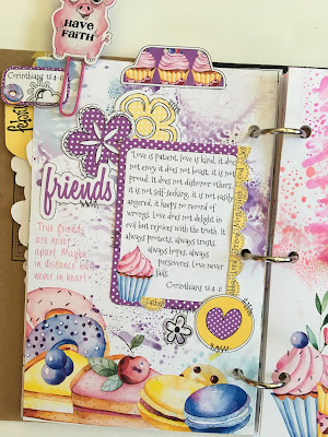 Sweet Friendship Journal from Lot95Designs
