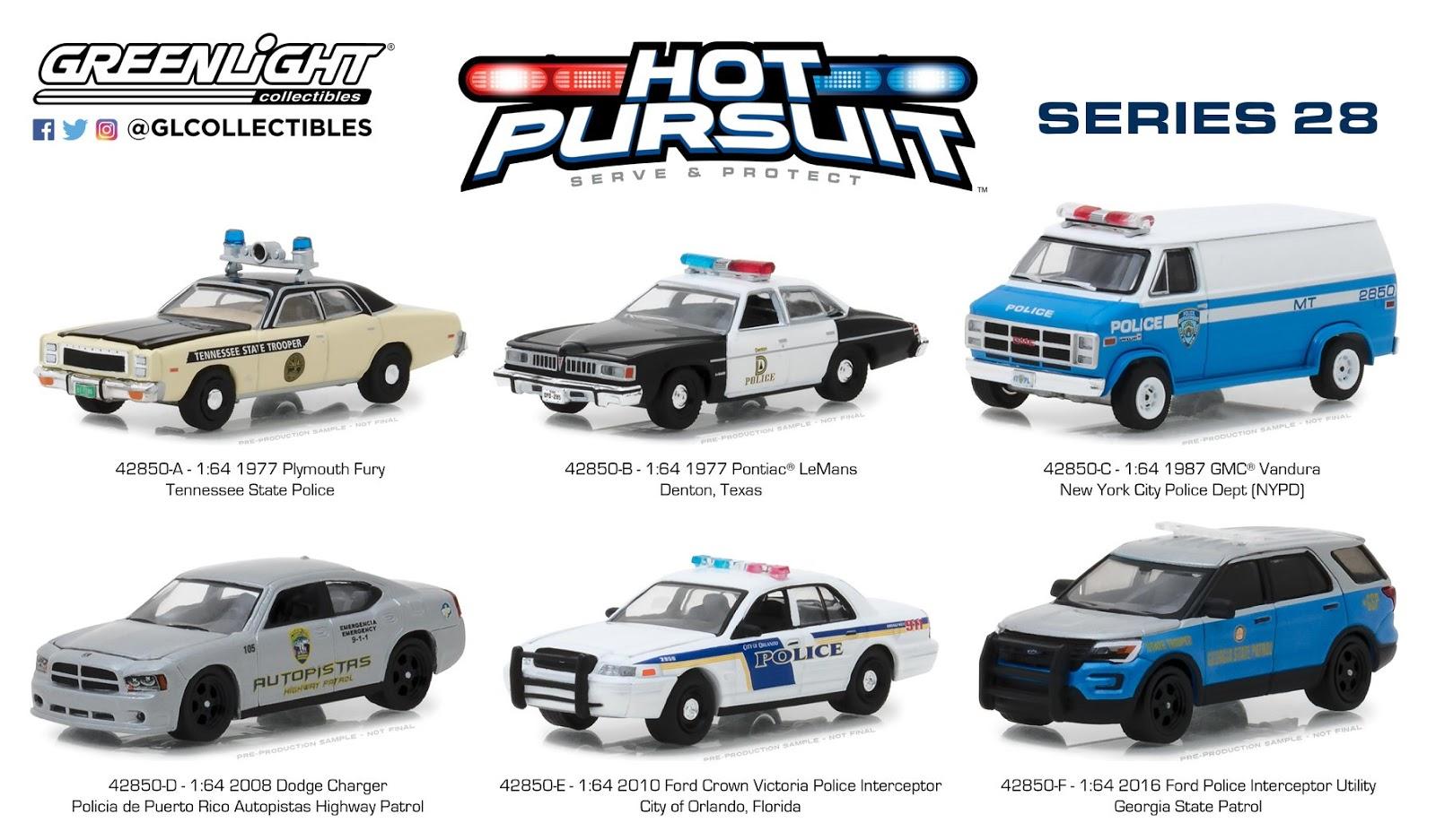 Greenlight Hot Pursuit Series 28 Diecast Indonesia