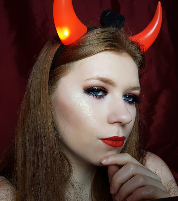 HALLOWEEN| DIABLICA|TUTORIAL| MOZO