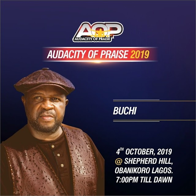 [Event] Join Buchi - Audacity of praise 2019