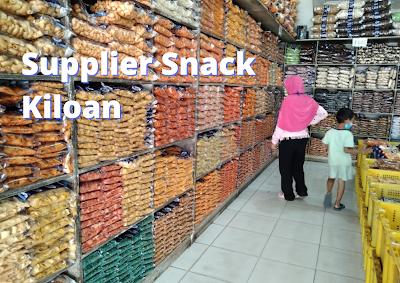 Daftar Supplier Snack Kiloan murah enak di Bandung