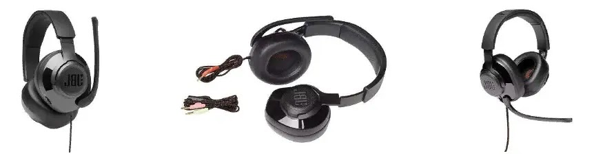 Навушники JBL Quantum 200 (JBLQUANTUM200BLK) Black