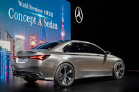 Mercedes-Benz Concept A Sedan (2017) Rear Side