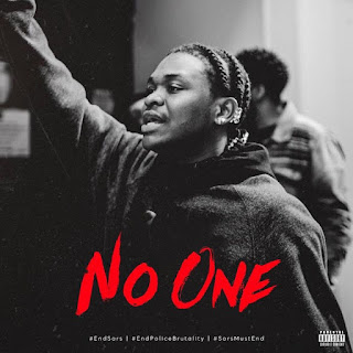 [Music] Dice Ailes – No One #EndSARS