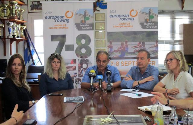 Γιάννενα: Τα Γιάννενα θα κερδίσουν το «στοίχημα» του Ευρωπαϊκού Πρωταθλήματος Κωπηλασίας Νέων!