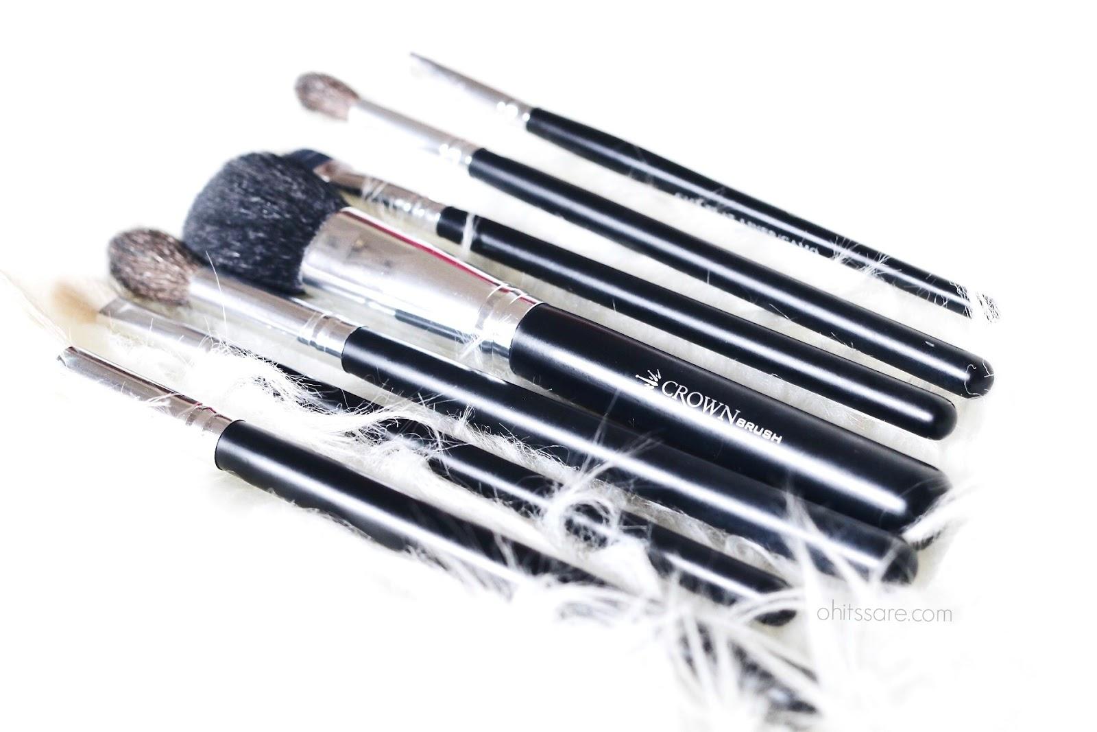 crown brushes,haul,review,eyeshadow,makeup brushes, highlight,contour,highlight & contour, crown brushes eyeshadow brushes,