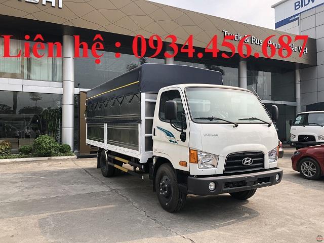 Hyundai 110sp thùng mui bạt