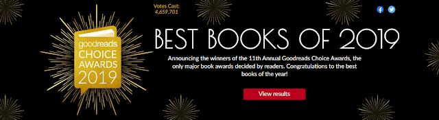 Best Books of 2019. Good reads awards 2019.