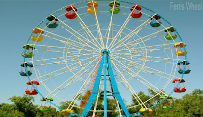 Ferris wheel,big wheel