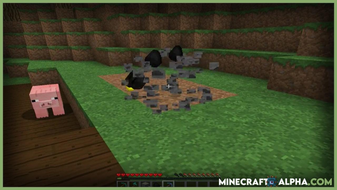 Minecraft Ore Excavation Mod 1.16.5 (New Shape Mining)