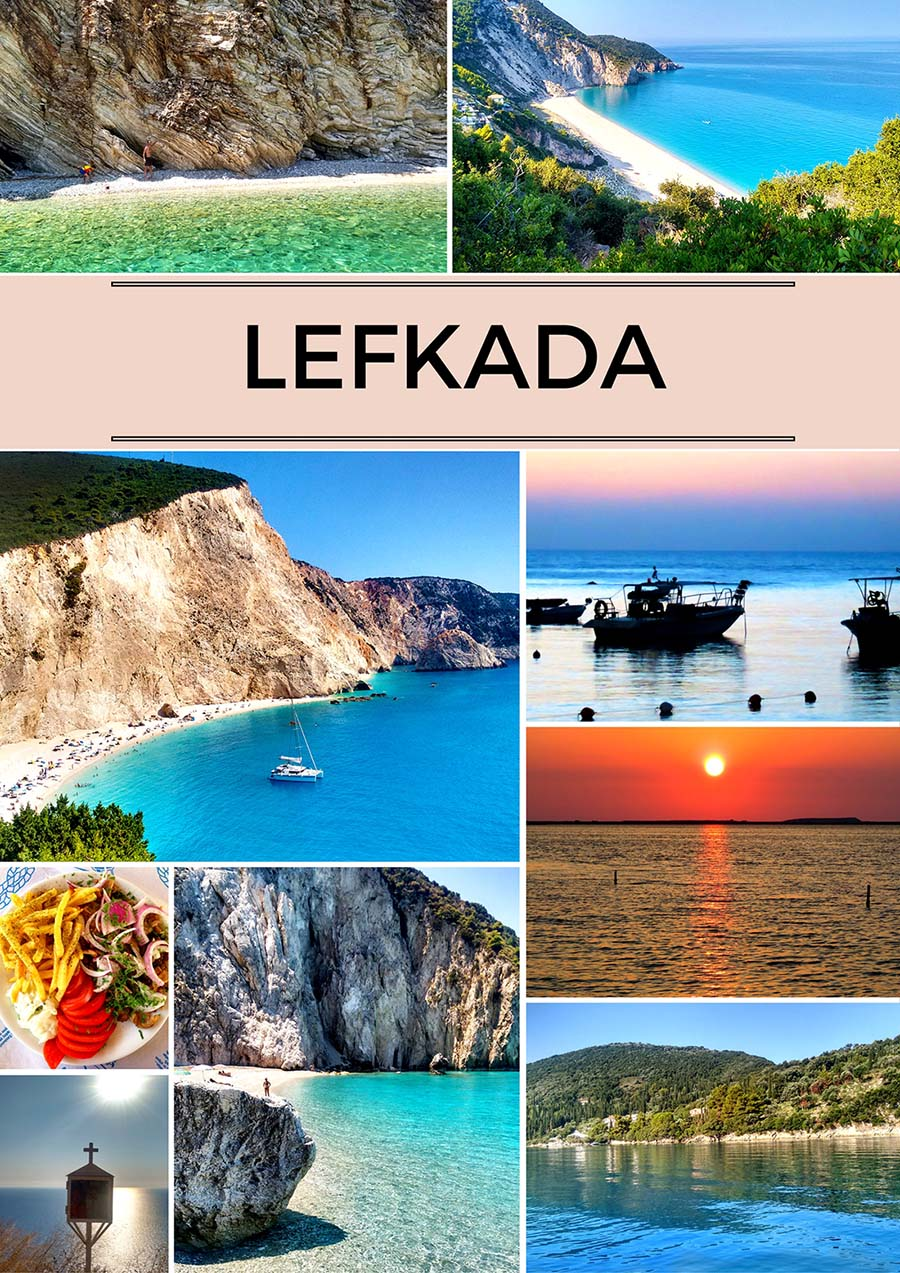 Lefkada spectacular sea and beaches