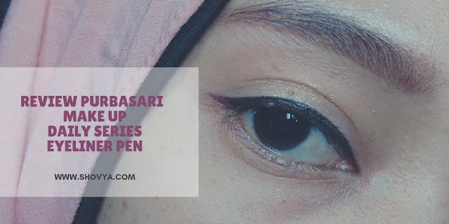 Review Purbasari Make Up Daily Series - Eyeliner Pen (Black)