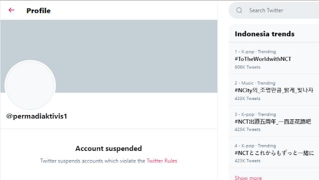 Twitter Abu Janda @permadiaktivis1 Hilang Habis Terbelit Kasus Rasial
