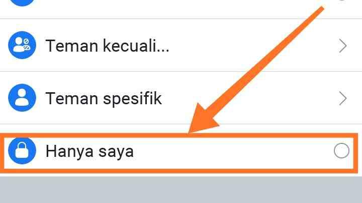 Cara menyembunyikan foto unggulan di fb