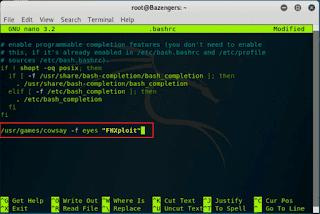 cara mengubah tampilan terminal agar berwarna