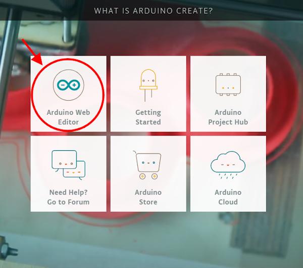 Web Editor Arduino