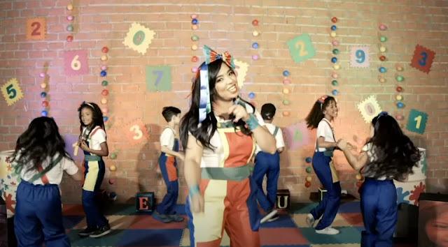 Foco nas crianças: Vaneyse lança clipe da música Nossa Força
