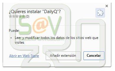 DailyQ (Extensión forzada)
