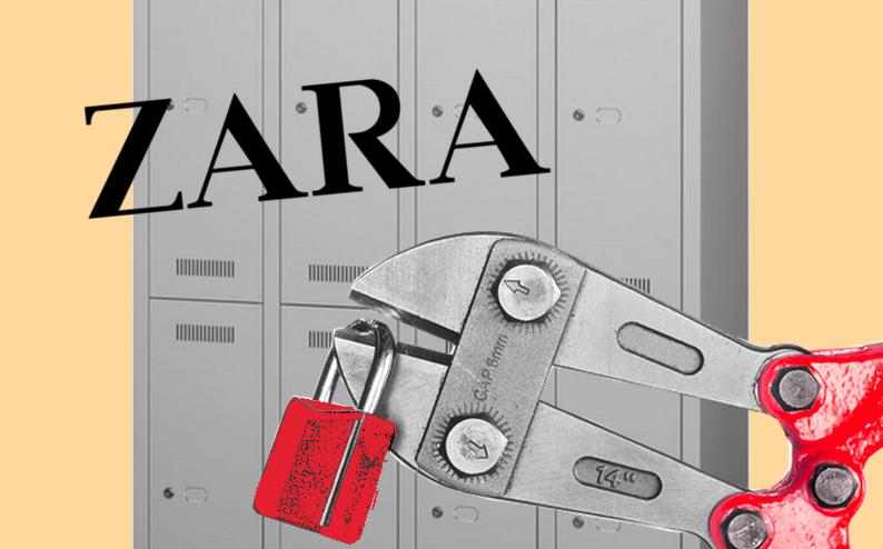 Verdi Bei Zara Zara Manager Lassen Mitarbeiter Spinde Aufbrechen