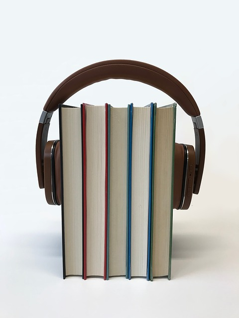 buku fisik yang berbentuk suara