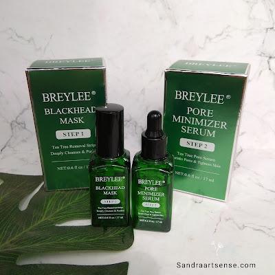 Breylee Blackhead Mask & Pore Minimizer Serum