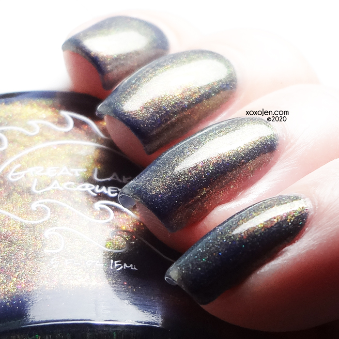 xoxoJen's swatch of Great Lakes Lacquer Confidence