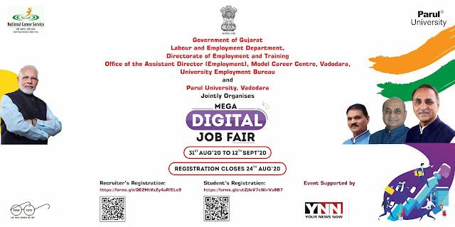 Mega Digital Job Fair in Vadodara