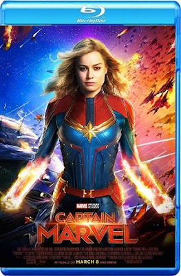 Captain Marvel 2019 Eng BRRip 1080p 900Mb ESub HEVC x265