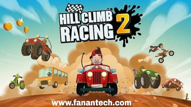 تنزيل لعبة هيل كلايمب رايسينغ Hill Climb Racing 2 APK للجوال اندرويد برابط مباشر