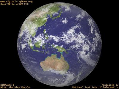 Typhoon Soudelor or HANNA digital image