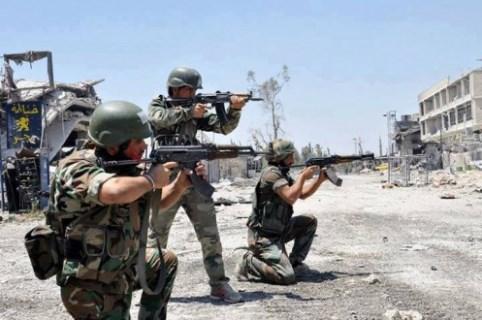 قافلة تظم 60 عسكريا فرنسيا في قبضة الجيش السوري