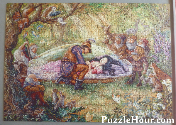 josephine wall jigsaw puzzle snow white and the seven dwarves once upon a time vintage jigsaws gibsons 500 piece box set review