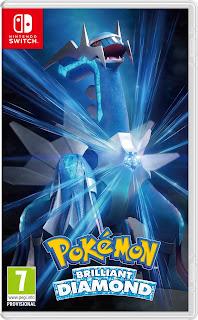 Pokémon Brilliant Diamond Boxart