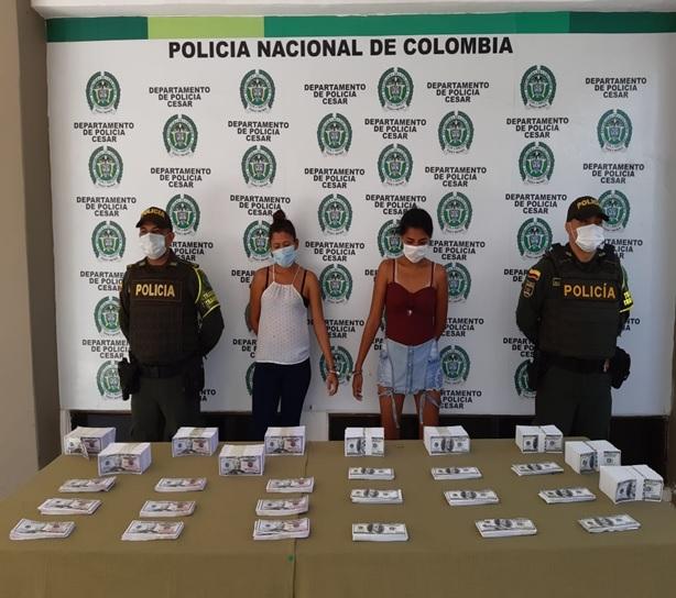 hoyennoticia.com, Con 786 mil dólares falsos detienen a una venezolana y a una colombiana en Valledupar