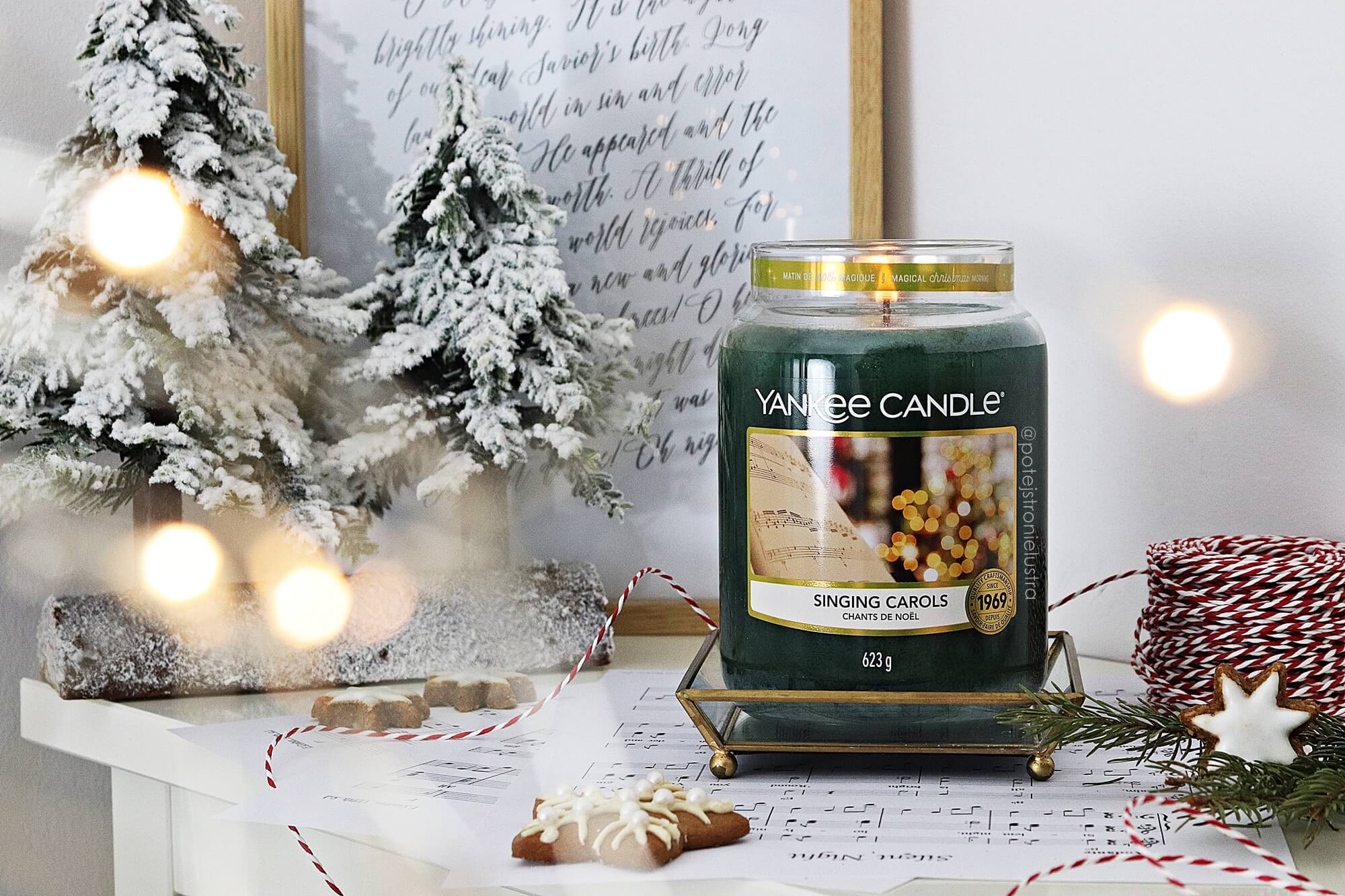 yankee candle singing carols recenzja