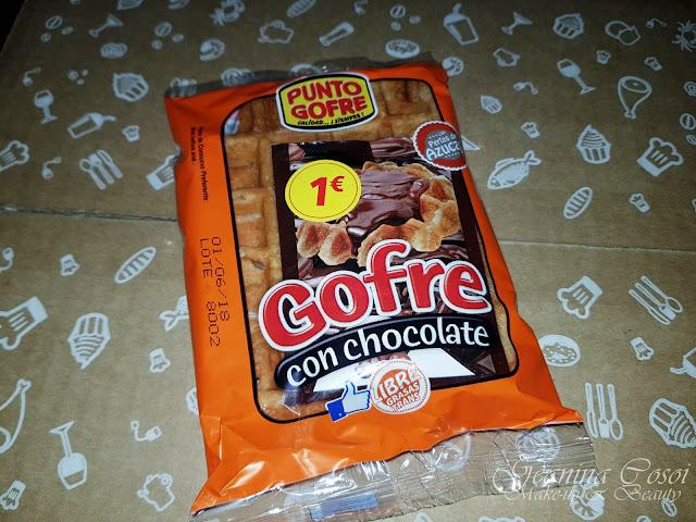 Punto gofre con chocolate Degustabox Enero ´18 - Especial Desayuno