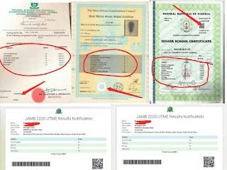 Method and Way To Detect Fake WAEC, NECO, NABTEB AND JAMB Result
