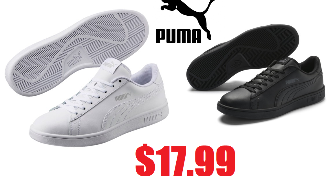 d19c9f481307 Unisex PUMA Smash v2 Leather Sneakers  17.99 + Free Shipping + Free Shipping  on Returns