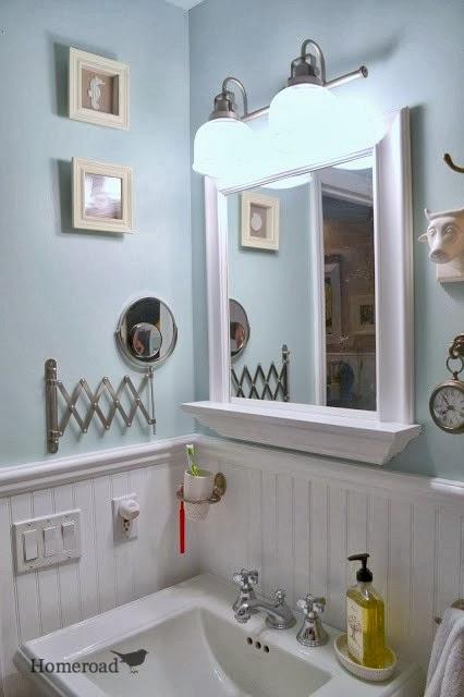 Painting The Master Bathroom Homeroad