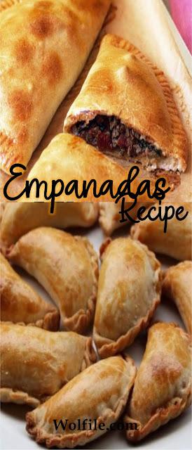 Empanadas Recipe #Snack #Sandwiches #Pastries