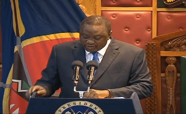 President Uhuru Kenyatta State of the Nation address