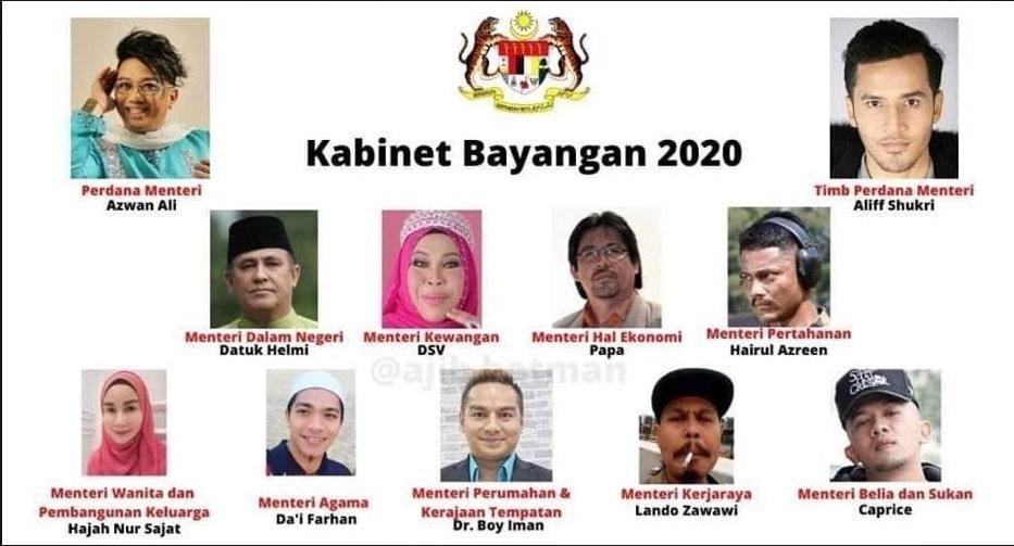 menteri kabinet baru dah keluar