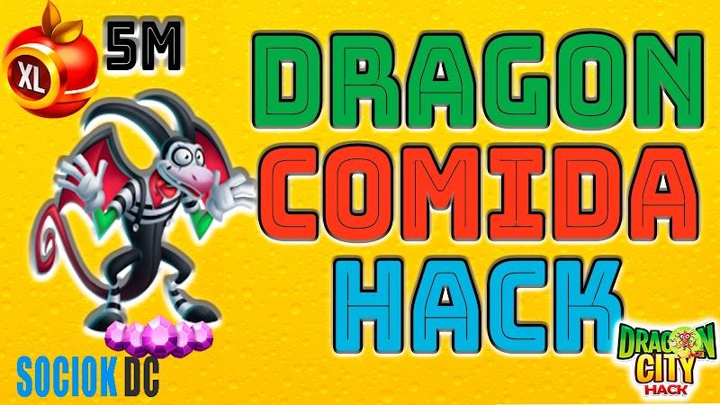 Dragon CIty Hack - 10M DE COMIDA & DRAGON MIMO GRATIS